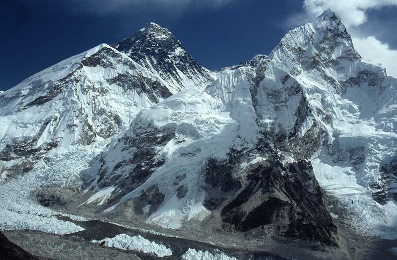 WHAT IS THE DEFINITIVE HEIGHT OF THE EVEREST?