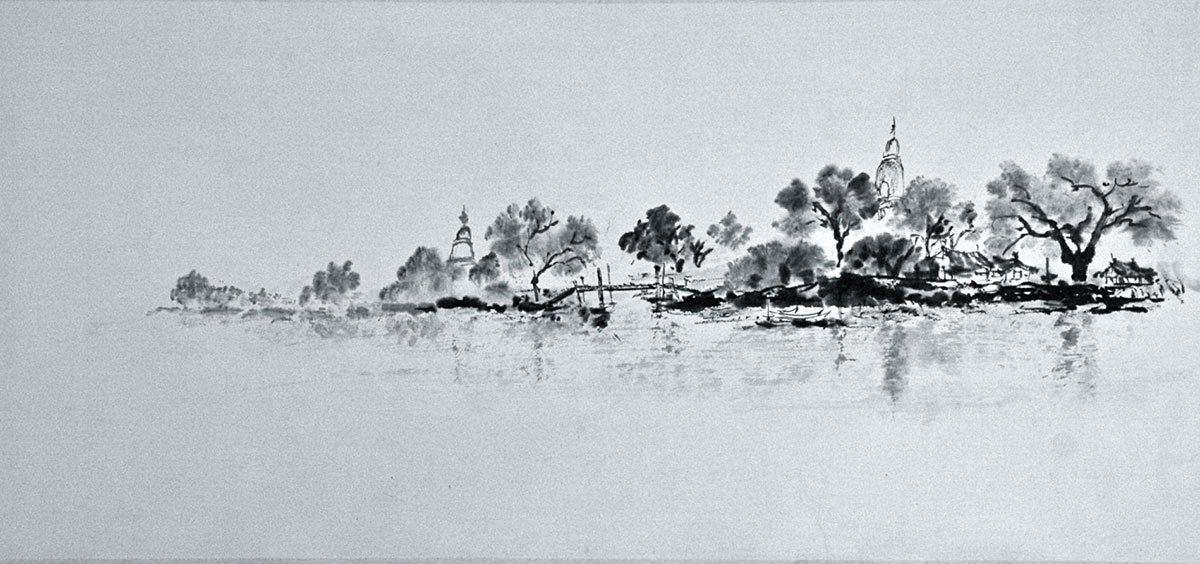 TRAVEL PAINTING IN BURMA